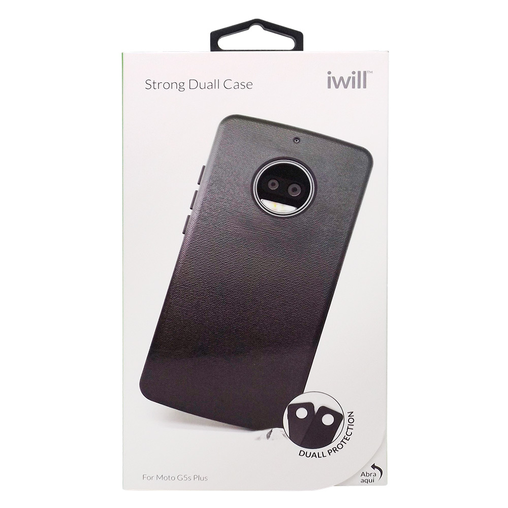 Strong Duall para Moto G5s Plus - Capa Antichoque Dupla