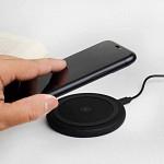 Conversor Para Carregamento sem Fio Fast Wireless Charger Preto