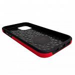 Double Case para iPhone 12 Pro Max Vermelha - Capa Antichoque Dupla