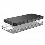 Capa em TPU para iPhone 12 Mini Preto Translúcido - hoco. Light Series