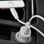 Kit de Carregamento com Cabo Lightning para USB Branco - hoco. Z2