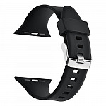 Pulseira para Apple Watch® WatchBand - Silicone com Fivela Preta 38/40mm