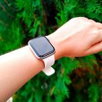Pulseira para Apple Watch® WatchBand - Silicone com Fivela Branca 38/40mm