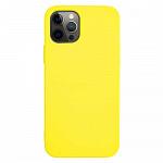 Simple Case para iPhone 12 / 12 Pro Amarela - Capa Protetora
