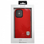Double Case para iPhone 12 / 12 Pro Vermelha - Capa Antichoque Dupla