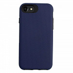 Double Case para iPhone 7 / 8 / SE Azul Marinho - Capa Antichoque Dupla