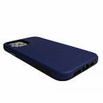 Double Case para iPhone 12 / 12 Pro Azul Marinho - Capa Antichoque Dupla
