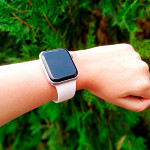 Pulseira para Apple Watch® WatchBand  - Silicone Branca 38/40mm