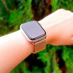 Pulseira para Apple Watch® WatchBand  - Milanese Dourada 38/40mm