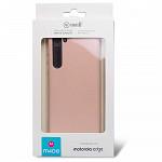 Simple Smooth Case para Motorola Edge Rosa - Capa Protetora