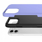 Double Lux Case para iPhone 12 Mini Roxa - Capa Antichoque Dupla