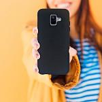 Duall Basics para Galaxy A6 2018 Preta - Capa Antichoque