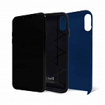 Strong Duall para iPhone X e XS Azul - Capa Antichoque Dupla