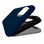 Double Case para iPhone 12 Pro Max Azul Marinho - Capa Antichoque Dupla