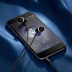 Fone de Ouvido Intra Auricular Maya com Microfone Preto - hoco. M76
