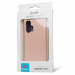 Simple Smooth Case para Motorola Edge + Rosa - Capa Protetora