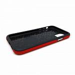 Double Case para iPhone 11 Pro Max Vermelha - Capa Antichoque Dupla