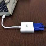 Cabo Adaptador USB-C para VGA