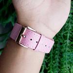 Pulseira para Apple Watch® WatchBand  - Couro Texturizado Rosa 38/40mm