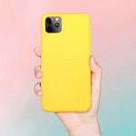 Simple Case para iPhone 12 Pro Max Amarela - Capa Protetora