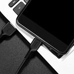 Cabo USB-C para USB em TPE com 2m Preto - hoco. X20
