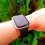 Pulseira para Apple Watch® WatchBand  - Milanese Preta 38/40mm