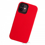 Double Case para iPhone 12 Mini Vermelha - Capa Antichoque Dupla
