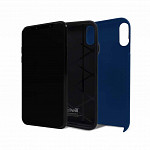 Strong Duall para iPhone Xs Max Azul - Capa Antichoque Dupla