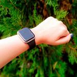 Pulseira para Apple Watch® WatchBand - Silicone Preta 38/40mm