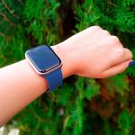 Pulseira para Apple Watch® WatchBand  - Silicone Azul 42/44mm