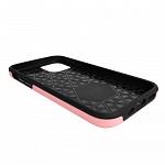 Double Lux Case para iPhone 12 Mini Rosa - Capa Antichoque Dupla
