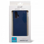 Simple Smooth Case para Motorola Edge + Azul Meia Noite - Capa Protetora