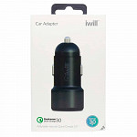 Adaptador Veicular com 1 USB Quick Charge 3.0 Preto