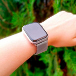 Pulseira para Apple Watch® WatchBand  - Milanese Prata 42/44mm