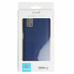 Simple Smooth Case para Moto G9 Plus - Azul