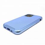 Duall Frame para iPhone 11 Pro Azul - Capa Antichoque Dupla