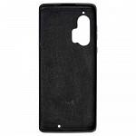 Simple Smooth Case para Motorola Edge + Preta - Capa Protetora