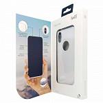 Glass Case para iPhone X e Xs Branca - Capa Antichoque
