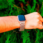 Pulseira para Apple Watch® WatchBand - Aço Inoxidável Prata 42/44mm