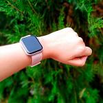 Pulseira para Apple Watch® WatchBand  - Nylon Rose 38/40mm