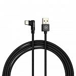 Cabo USB-C 90 Degree Cable em Nylon Preto